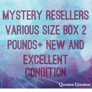 Other - Ladiess mystery various size box